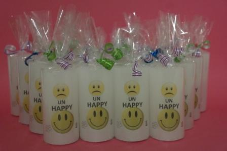 Smiley kaarsen